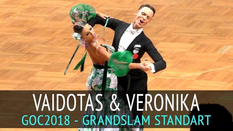 Vaidotas Lacitis Veronika Golodneva Медленный вальс GOC2018 GrandSlam STANDARD