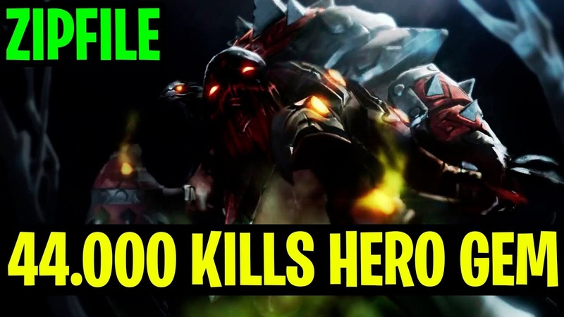 Zipfile Have A 44.000 KILLS HERO GEM - Pudge - Dota 2