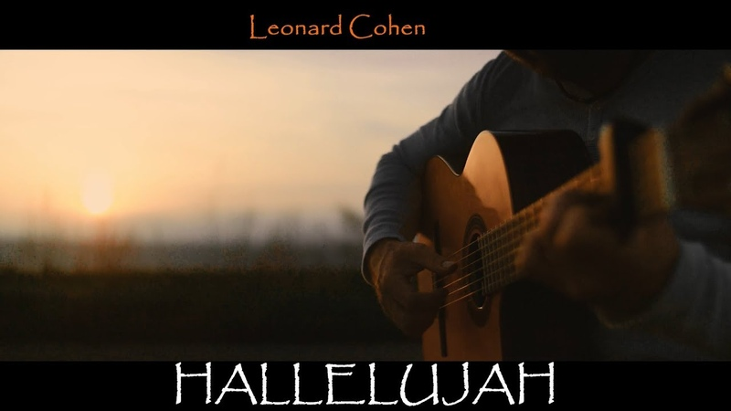 HALLELUJAH - by Leonard Cohen - fingerstyle guitar cover by soYmartino