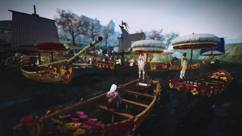 Black Desert- Цветение Сакуры- Фестиваль Элли