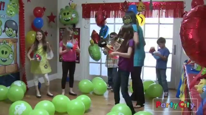 Веселая Затея - идеи для праздника. Angry Birds Birthday Party Ideas from Party City