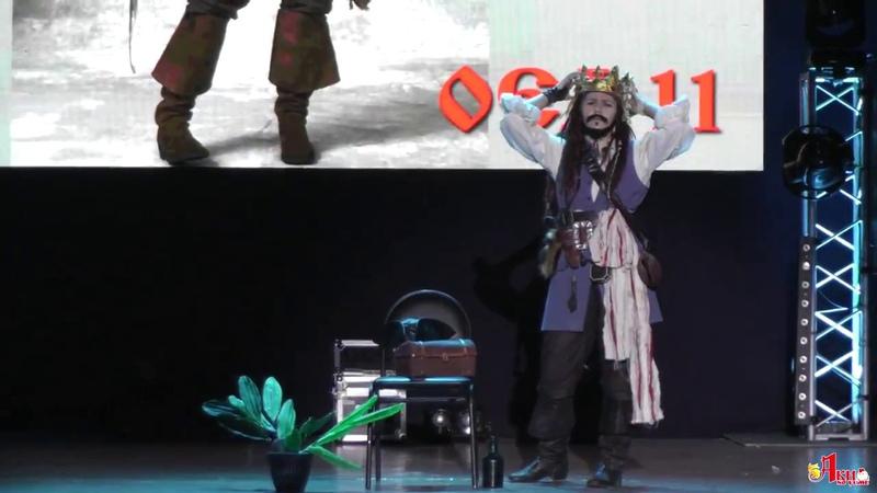 Aki no Yume 2018 Captain Jack Sparrow – Pirates of the Caribbean