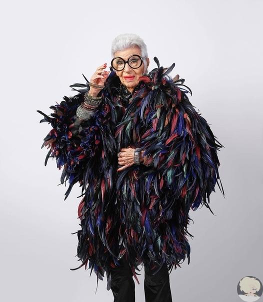 97-летняя модель заключила контракт с модельным агентством
