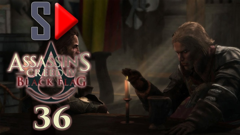 Assassin's Creed IV Black Flag на 100% - 36 Эпизод 8