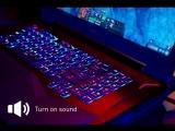 MSI GT75 Titan - Низкопрофильная механическая клавиатура с Per Key RGB