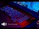 MSI GT75 Titan Низкопрофильная механическая клавиатура с Per Key RGB