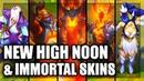 All New Skins Spotlight High Noon Lucian Thresh Urgot Divine Sword Irelia Enduring Sword Talon
