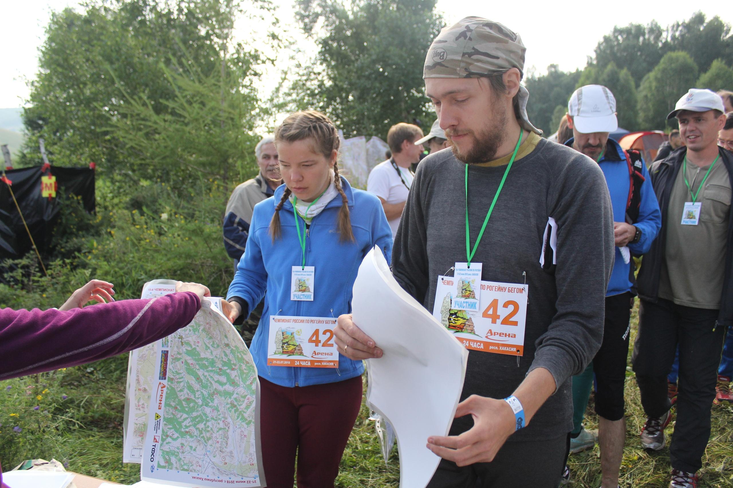 Получение карт