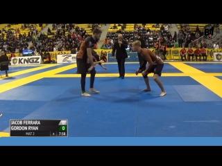Final Gordon Ryan vs Jacob Ferrara 2015 IBJJF No-Gi Worlds