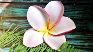 БОЛЬШИЕ тропические цветы. ГАВАЙСКИЙ ЦВЕТОК из фоамирана