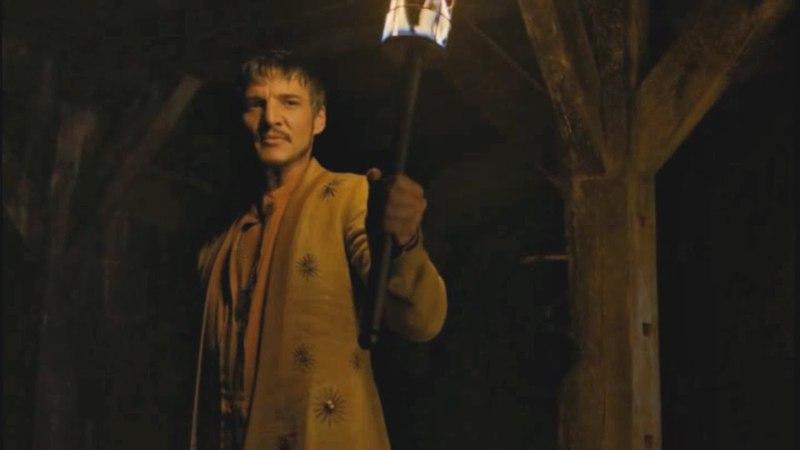 Yo seré tu campeón Oberyn conversa con Tyrion Juego de Tronos Español HD