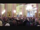 Отпевание н.а. России Людмилы Сенчиной во Владимирском соборе (28.01.2018 г. фильм 2) вид.1350