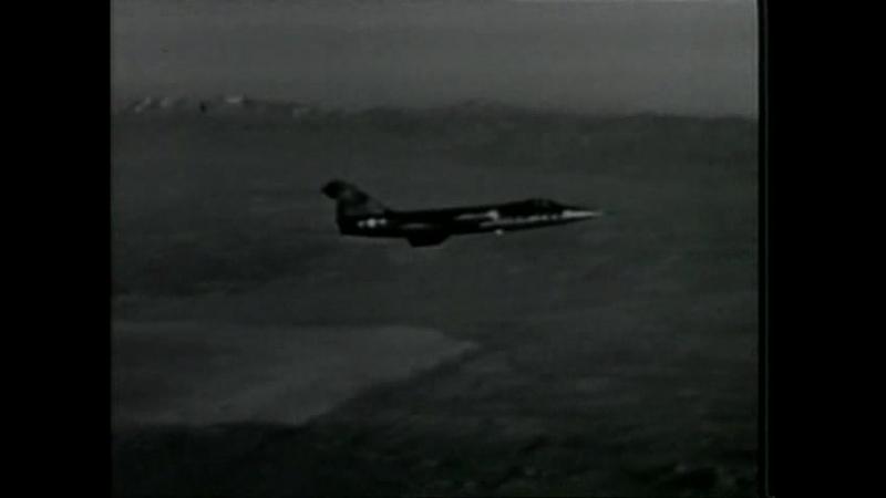 Знаменитые самолёты - Истребитель-перехватчик Lockheed F-104