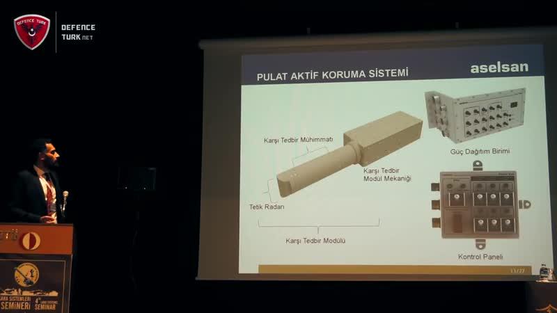 ASELSAN Aktif Koruma Sistemleri - Pulat AKS