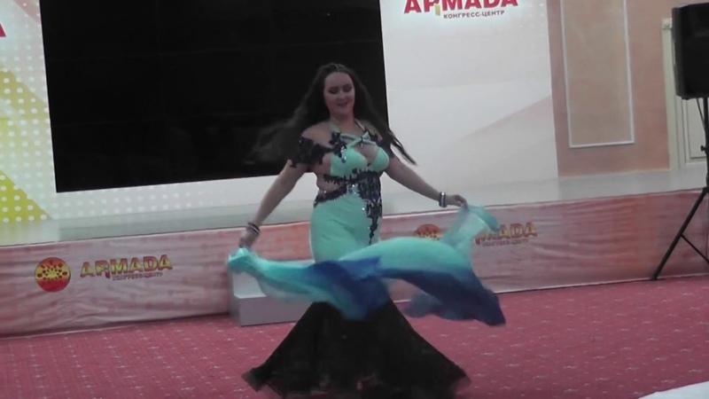Колесникова Альмира. Фестиваль Eurasia Raks, г. Оренбург, 21.10.2018