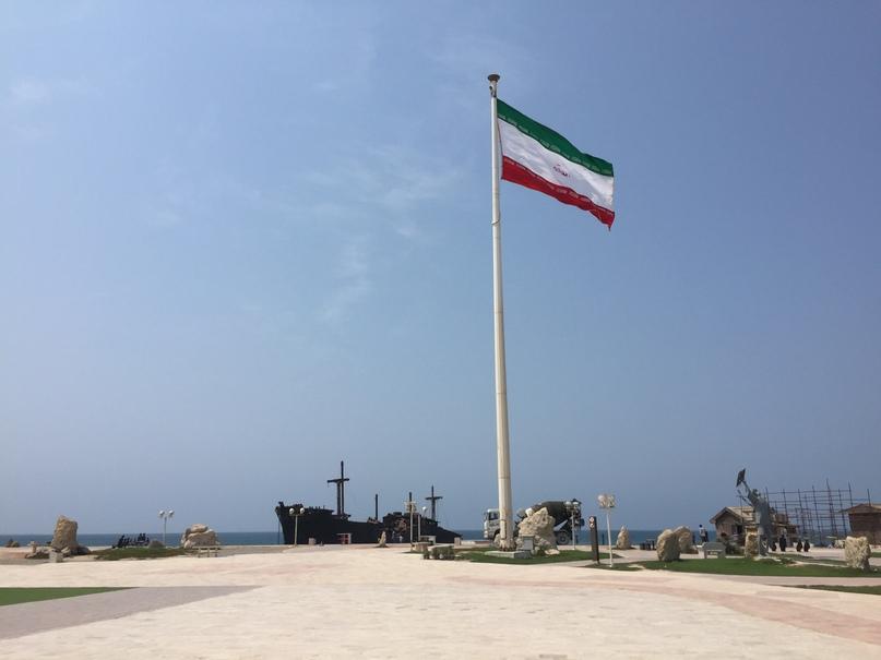 Остров Киш и Тегеран. Обустроенный парк для наблюдения за кораблем