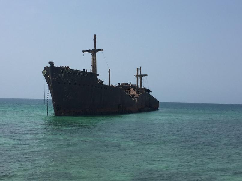 Остров Киш и Тегеран. Greek Ship
