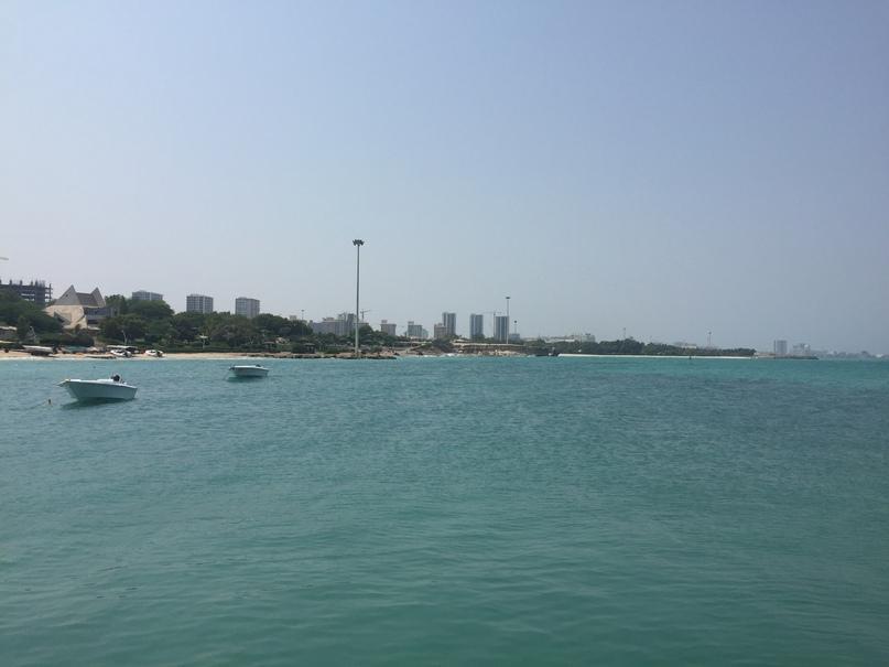 Остров Киш и Тегеран. Вид на Киш