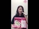 Heo Yunjin individual thank you video (first stage of National Producers Garden!)