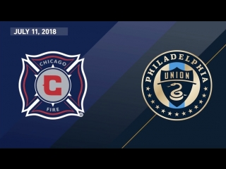 Highlights_ chicago fire vs. philadelphia union _ july 11, 2018