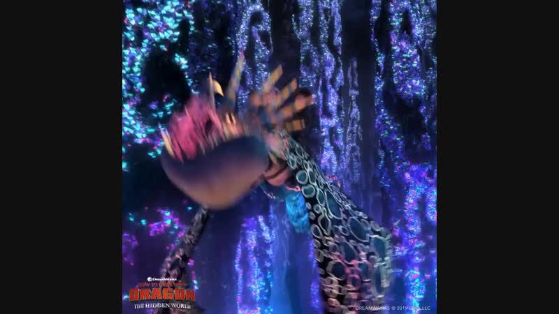Трейлер к выходу «Как приручить дракона 3: скрытый мир»