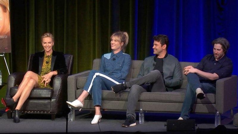 Charlize Theron, Mackenzie Davis, Ron Livingston Jason Reitman Tully | Talks at Google