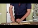 Разделочный нож с клеймом