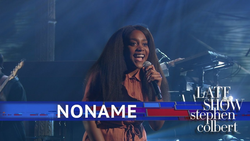 Noname - Blaxploitation Prayer Song Dont Forget About Me - The Late Show