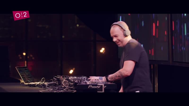 Владимир Фонарев DJ set в студии O2TV ⁄ BeatON (28. 01. 2018)