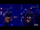 Shawn Mendes and Justin Timberlake performing What Goes Around Comes Around iHeart Festival 2018