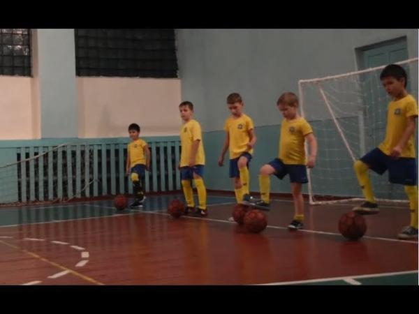16.01.19 Фрагменты тренировки - 2012-13 г.р.