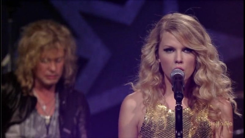Def Leppard and Taylor Swift -CMT.Crossroads.2008