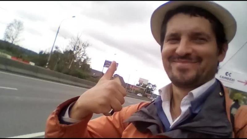 Один на Трассе м10 автостопом из Москвы в Клин ОдинокийПутник стрим