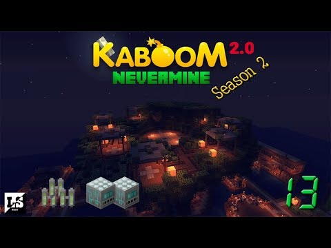 Minecraft Kaboom 2.0 Nevermine S2 - 13 MOX Реактор и первые нейтрониумы