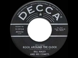 1955 HITS ARCHIVE Rock Around The Clock - Bill Haley &amp His Comets (#1 hit)