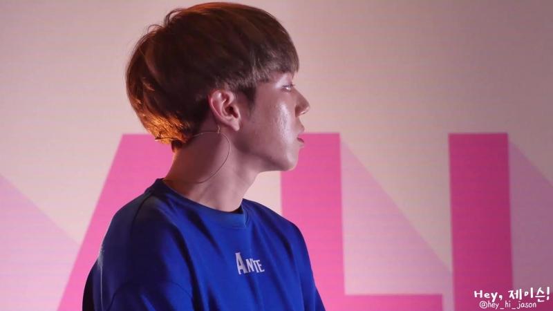 FANCAM   14.04.18   Jason @ KCON JAPAN 2018 Day 2 Dance all day - 선인장(CACTUS)