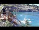 посетили голубое озеро в александровске