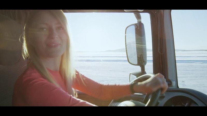 Ice drift   truck drift   PROJECT NORTH - Iwona Blecharczyk Trucking Girl