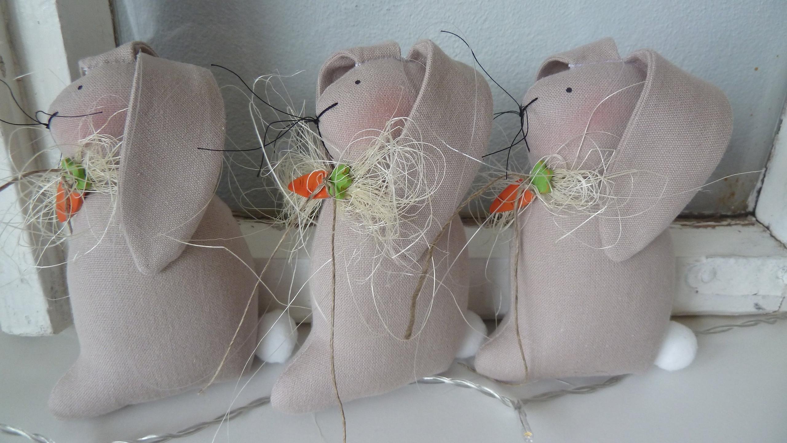 зайцы к пасхе
