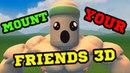 ХВАТАЙ ПИПИРКУ И ВВЕРХ! - Mount Your Friends 3D