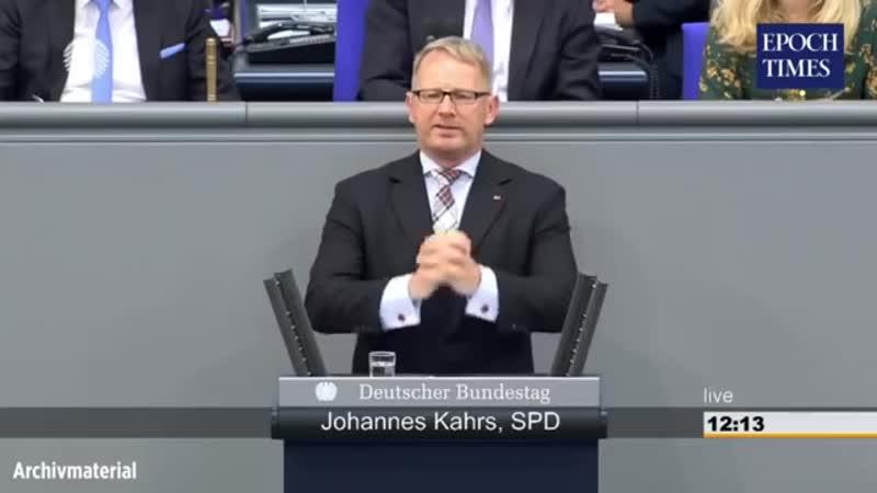 Johannes Kahrs SPD kriminell verblödet und hochgradig schwul etwas näher betrachtet