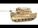 Конструктор Боевой танк , 47 х 19,5 х 16 см, арт. ТР-06, Чудо игрушки POLLY