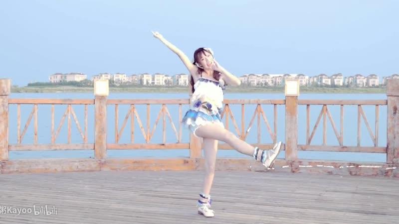【海豹粥】 DEEP BLUE TOWNへおいでよ 踊ってみた 【海へ行こうよ】 sm34038962