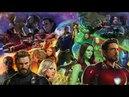 Marvel Infinity War ВОЙНА БЕСКОНЕЧНОСТИ - олдскульная новинка с огромным количеством персонажей всел