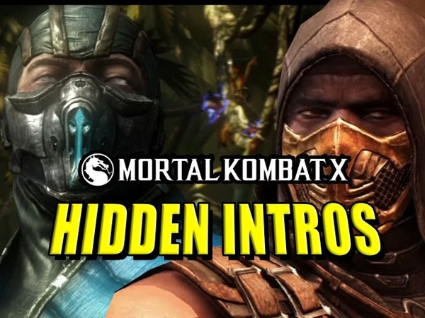 HIDDEN CHARACTER INTROS Mortal Kombat X Leak (Latepril Fools)
