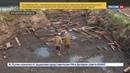 Новости на Россия 24 • На острове Вежи в Костромской области обнаружили уникальные археологические находки