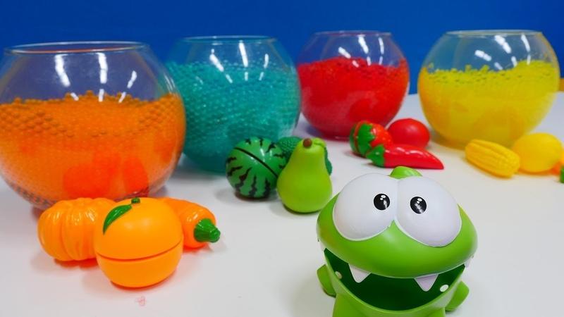Bebek videosu. Sebze meyve renk ayırımı.