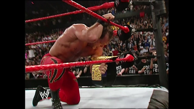 WWE Backlash 2004 - Chris Benoit vs Triple H vs Shawn Michaels
