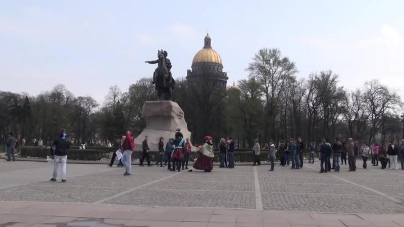 История создания памятника Петру I на Сенатской площади в Санкт Петербурге