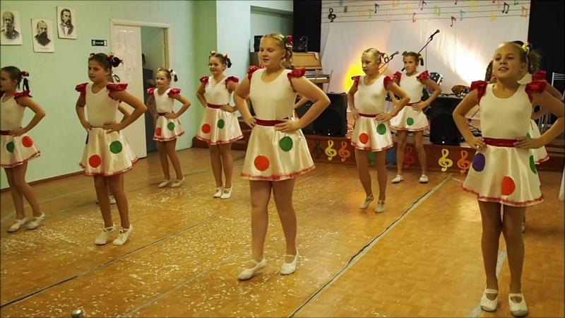 Ансамбль танца Искорка, педагог Маркова В.М. 4.10. 2018 г
